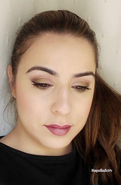 Maquilladict@s: Tutorial look de fiesta Goldmine #maquillaje #makeup #makeuptutorial #makeuplook #eyemakeup #beauty