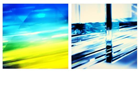 SPETTRI/SPECTRA 5/8 – TONELLI DESIGN  Venticinque anni  riflessi in un libro è un progetto composto da otto capitoli,  Massimo Gardone con Spettri/Spectra 5/8 interpreta l'origine della fotografia percorrendo le tracce di Newton.