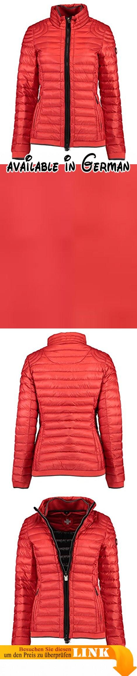 Wellensteyn Damen Jacke Molecule Lady Rot (Redmetal Rme), X-Large. Schmaler, taillierter Schnitt. zwei Seitentaschen per Zipper verschließbar #Apparel #OUTERWEAR