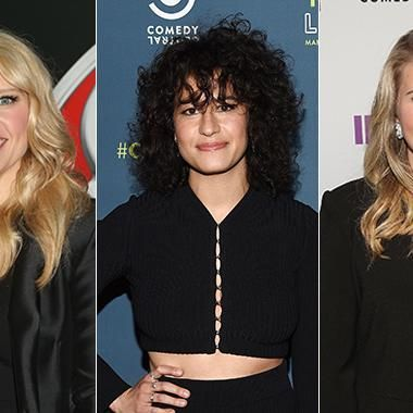 Ilana Glazer Kate McKinnon and Jillian Bell -- 3 of my favourite women!!
