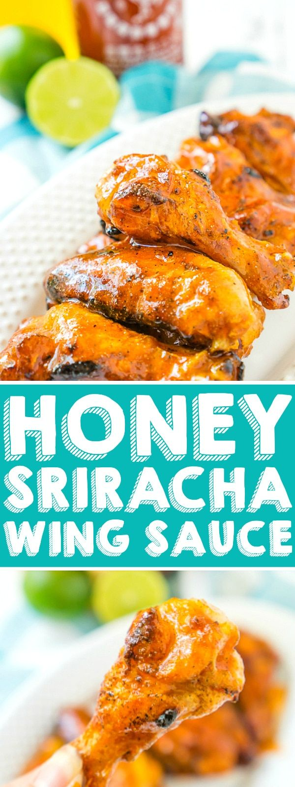 Honey Sriracha Chicken Wings, Honey Sriracha Sauce, Spicy Wings, Sweet And Spicy Chicken, Grilled Chicken Wings, Sweet And Spicy Sauce, Hot Wing Sauces, Chicken Wing Sauces, Chicken Wing Recipes