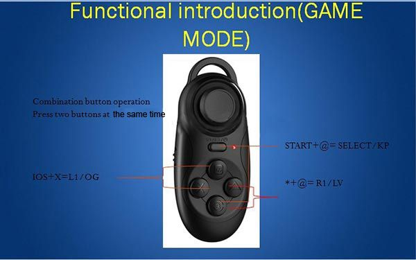 Remote Control wireless Mouse