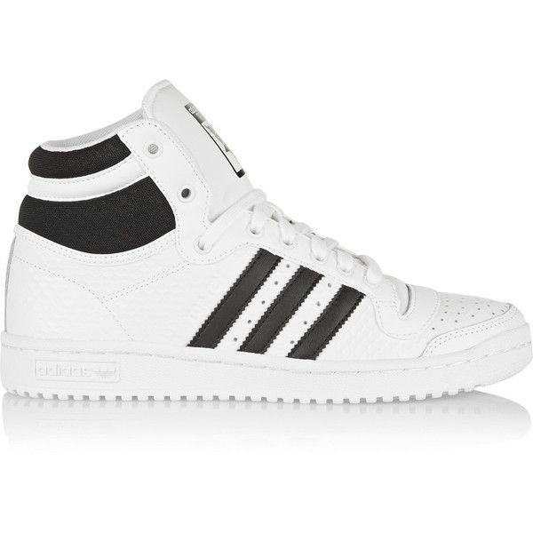 adidas Originals Top Ten texturedleather hightop sneakers 115  liked