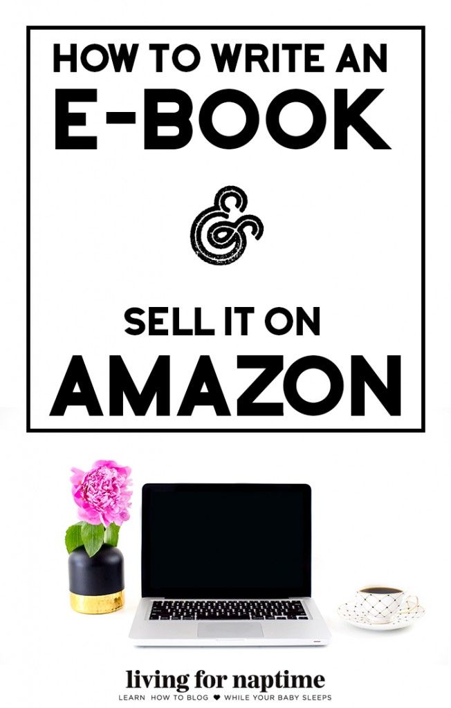 How to Write an Ebook & Sell it on Amazon in 5 Easy Steps. Writing an ebook is a lot easier than it sounds. Check out this blog post to learn the easiest way to create an ebook for sale.
