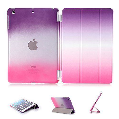 iPad Mini 1/2/3 Case, iPad Mini 1/2/3 Cover, DEENOR Colour Series Smart Cover Transparent Back Cover Ultra Slim Light Weight Auto Wake up/Sleep Function Protective Case Cover for Apple iPad Mini 1/2/3. A06, http://www.amazon.co.uk/dp/B00T5OK5LG/ref=cm_sw_r_pi_awdl_hbL3vbDT6SNBP