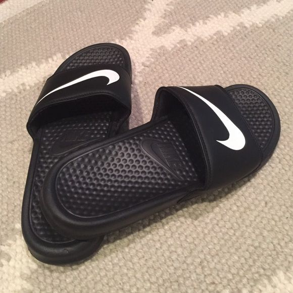 Nike Slip-on Never Worn. Great Condition Nike Shoes Sandals