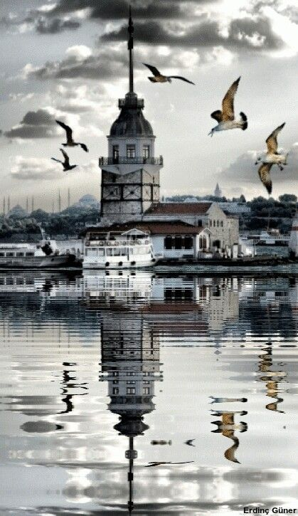 Maiden's tower, Uskudar - Istanbul.