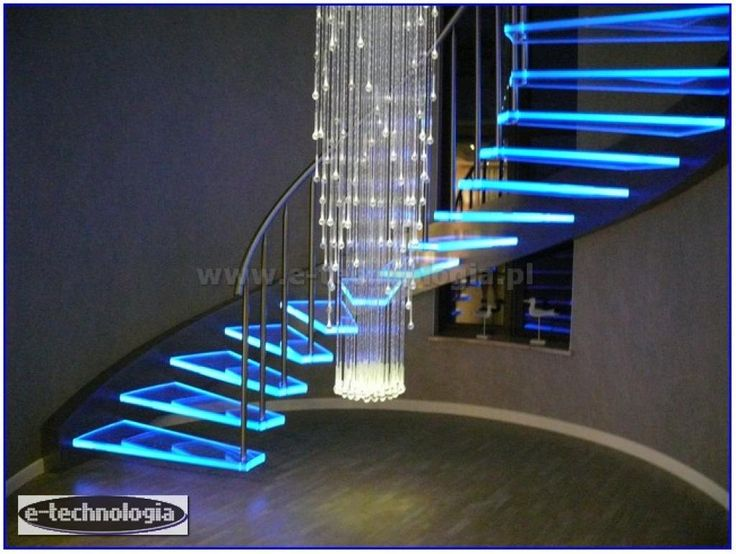 Żyrandol światłowodowy Korona eleganckim kształcie