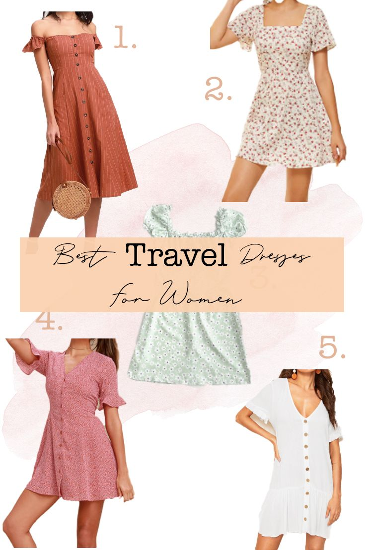Best Travel Clothes For Women Travel Dress Travel Outfit Best Travel Clothes
