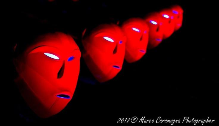 Bwindi Light Masks, una delle Luci d'Artista che illuminano Torino nel periodo natalizio