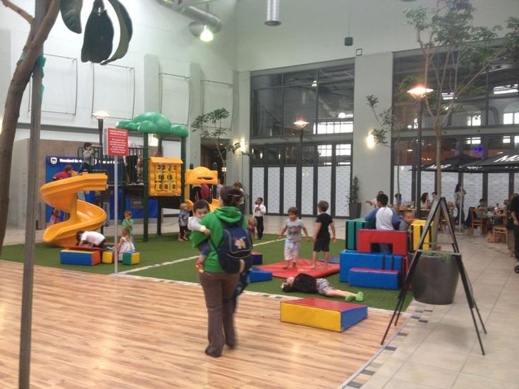 The Padocks shopping centre, Milnerton: Kids enjoying some quality playtime on a rainy day at the Paddocks- pop in, do your shopping, have lunch or just a coffee and amuse the kids with some good, active fun.