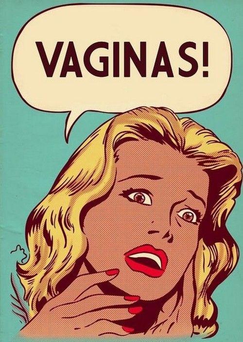 vaginas, comics, roy lichenstein, parody