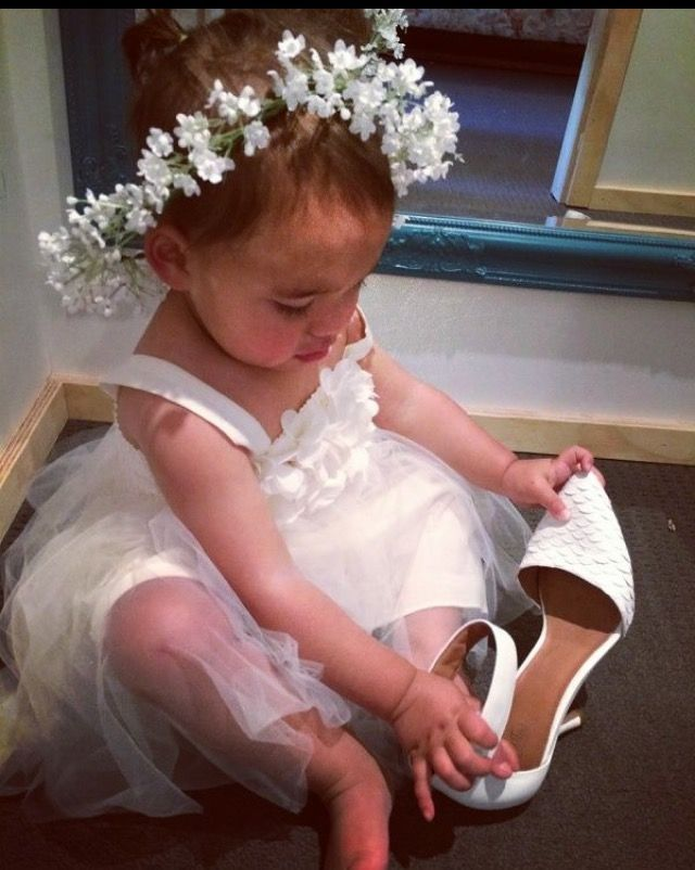 Flower Girl Fun. Many styles available. Tulle skirt for any princess. Nora and Elle Bridesmaids.