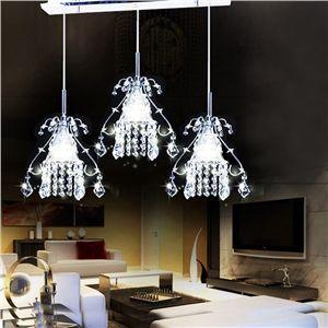 40aba234e1845bcbea7d04042bdb9e7c  crystal lights crystal pendant 5 Luxe Plafonnier Chambre à Coucher Ojr7
