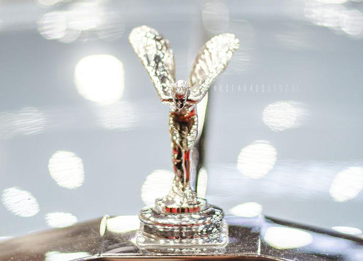 Rolls Royce angel by kofaragozsuzsiphotos