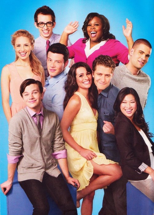 Glee Cast. Back when it was good!!!