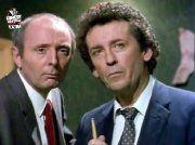 Jasper Carrott and Robert Powell in 'The Detectives' (1993-97)