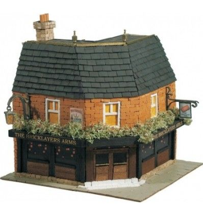Domus Kits Κατασκευή Αρχιτεκτονικής Αγγλικής Pub - The Bricklayers Arms