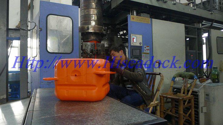 working machine for modular floating docking system