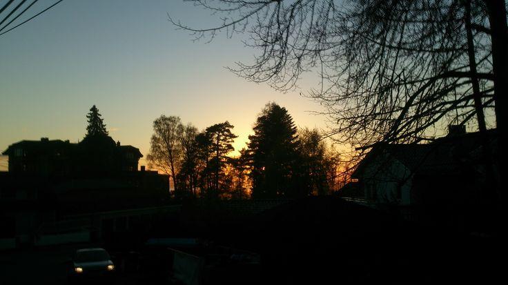 "Sunset at ""Soria Moria"""