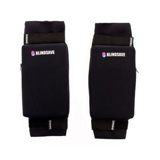 BLINDSAVEKnee pads have the best maneuverability any goalie knee pads can offer. The insertable padding is only 1.5 cm thick so you are very close to ground.. The density of these knee pads is perfectly balanced that they provide all the protection you might need to have as a goalie.