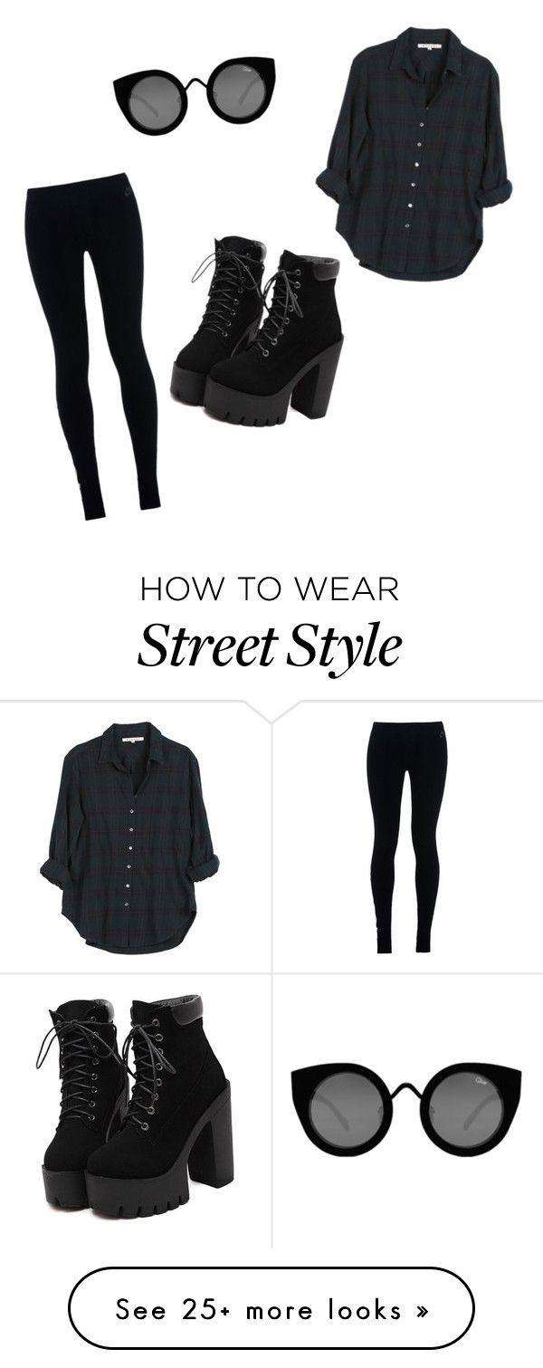 Blusa negra , pantalon negro, botas negras