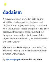 Image result for what is dadaism