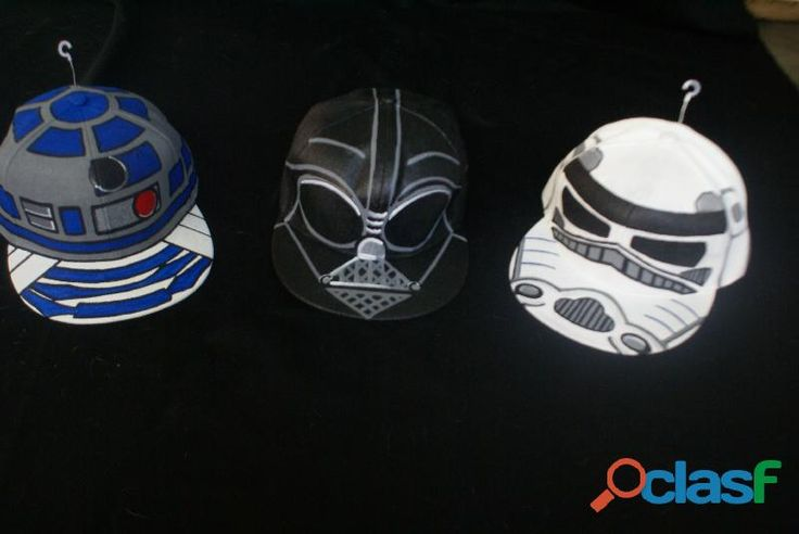 Gorras Pintadas a Mano Star Wars