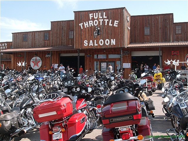 Full Throttle Saloon, Black Hills, SD--Black Hills Motorcycle Rides, the book.