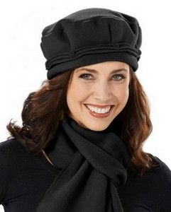 Ultra-soft Mia fleece hat! $29.00  http://www.coolcoolhats.com/  #hats #fashion #beanie #cap