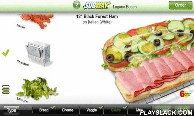 Subway Ordering For California  Android App - playslack.com ,  ** Exclusively for SUBWAY® restaurants in California! **Check our demo video at http://youtube.com/zippyyumThis is the most amazing ordering app that exists! It is the only app that truly emulates the unique Subway experience.Don't stand in line... Order Online! You can now place your order online and have it ready when you get to your SUBWAY®.*FEATURES:*Select the nearest Subway location that takes smartphone orders*Build your…
