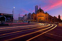 Flinders Street Station, Melbourne, Victoria - Australia