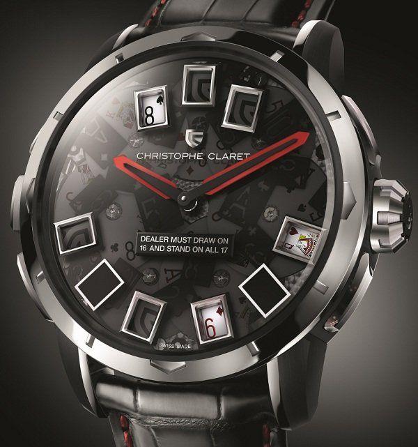 Christophe Claret 21 Blackjack Watch for Men