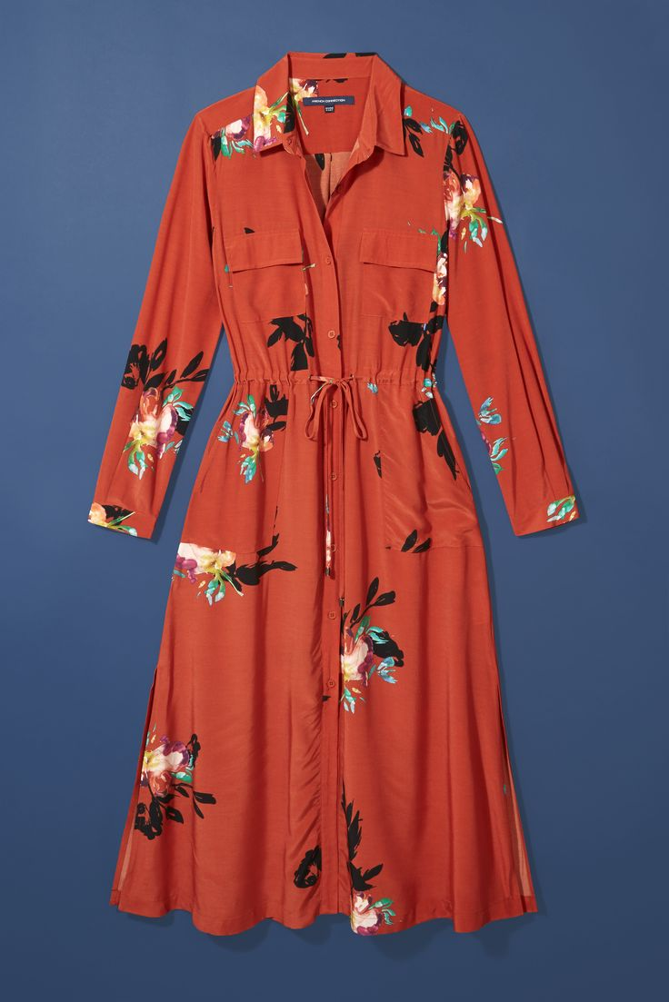 This French Connection midi dress is the ideal trans-seasonal piece. Because nothing says, 'I don't care that summer's almost over' quite like Autumn florals.