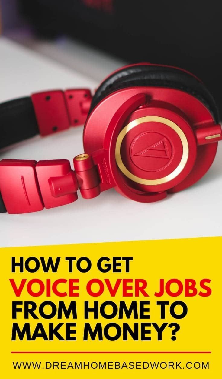 How to Get Voice Over Jobs from Home to Make Money? – Legitimate Work from Home Jobs for Stay at Home Moms