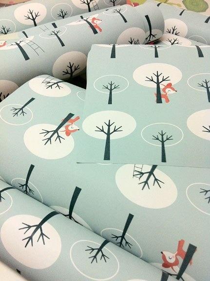 Petit focus sur les beaux papier-peints enfants d'Océchou « Le Blog des Editeurs de Jolies Choses pour Enfants…