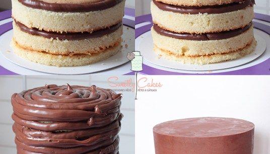 Mud Cake au chocolat Blanc