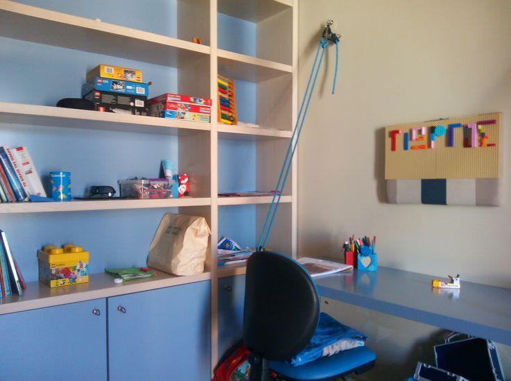 Γραφείο αγοριού 7 ετών εμπνευσμένο από την ιστιοπλοΐα!