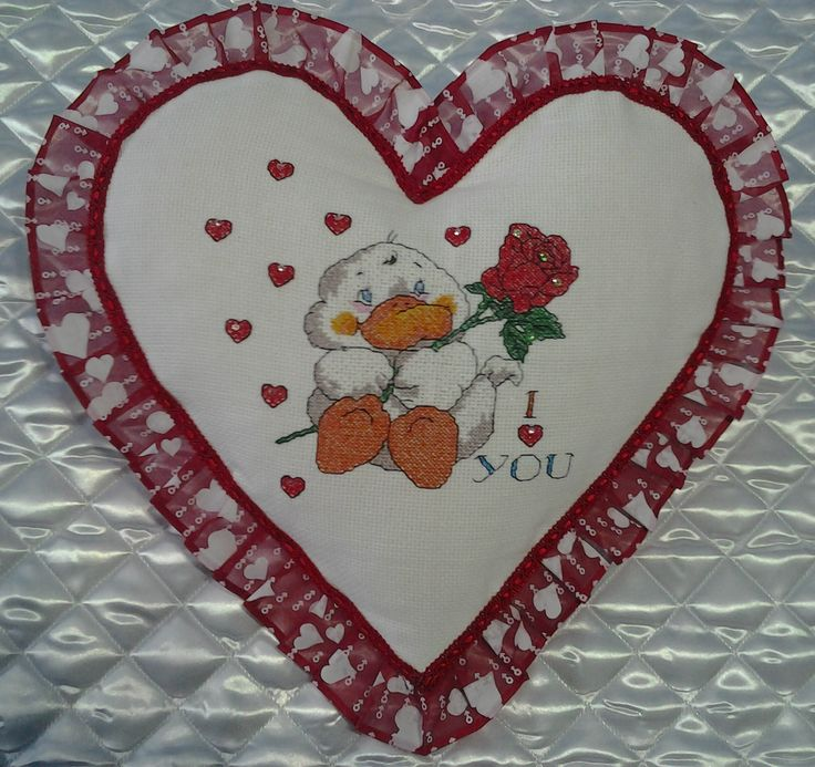 Coccarda romantica per una speciale occasione …San Valentino
