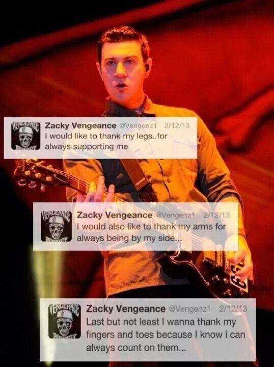 Lol Zacky #avenged sevenfold