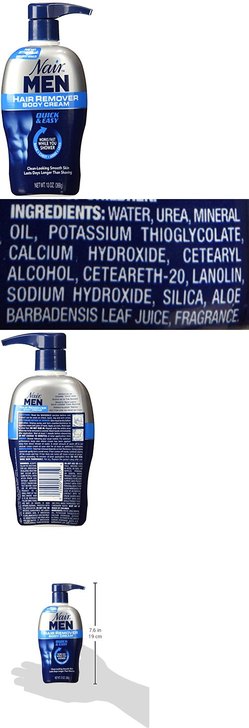 Hair Removal Creams and Sprays: Nair Men Hair Removal Body Cream 13 Oz (368 G) Each -> BUY IT NOW ONLY: $50.72 on eBay!