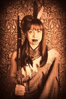 This womans Ngati Porou/Ngati Kahungunu with Scots blood.