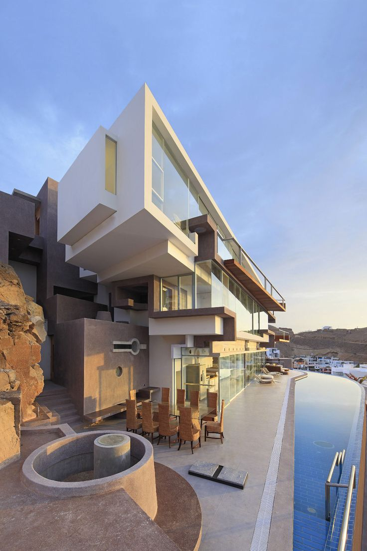 Veronica Beach House by Longhi Architects / Pucusana District, Peru - Brad  Read Design Group Pty Ltd