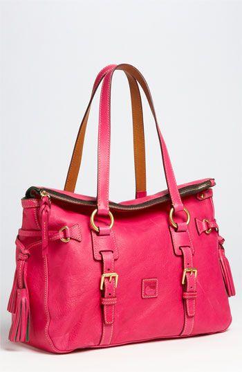 Dooney & Bourke 'Florentine' Vachetta leather satchel. I'm loving this!!