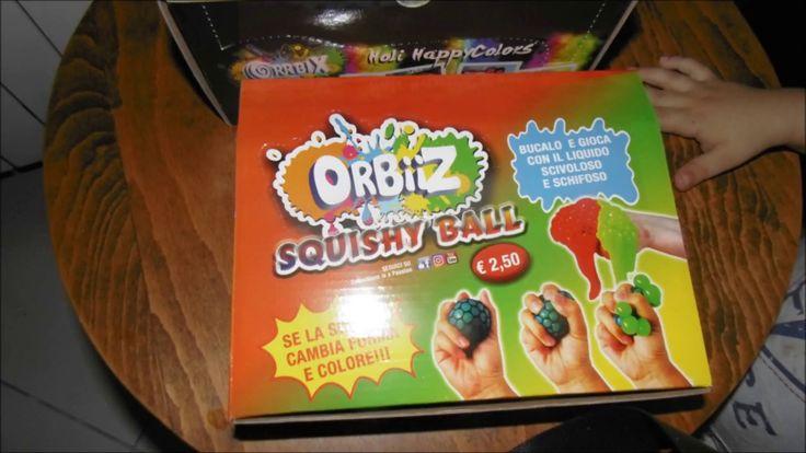 Orbiiz Squishy Ball - slime Edicola giugno 2017