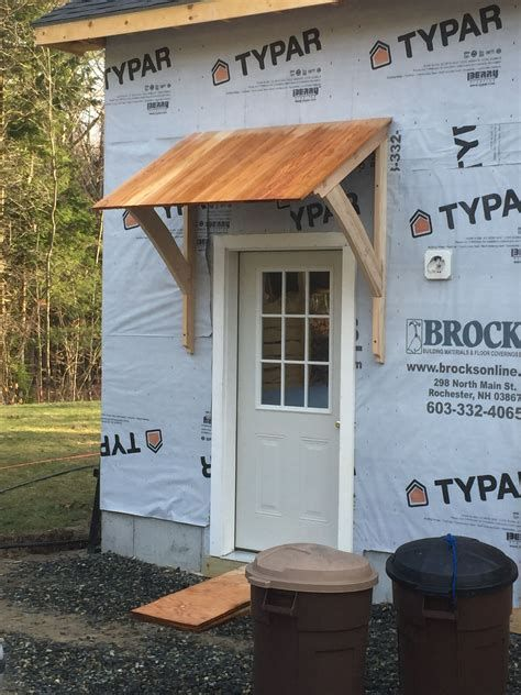 Shed Awning On Short Side Over Door Image Search Results Porch In 2019 Door