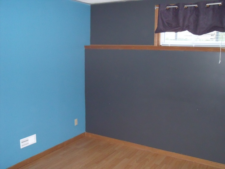 lower level bedroom or office with laminate flooring