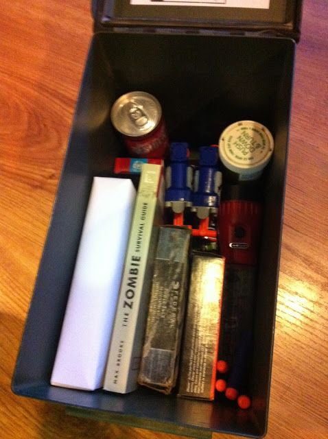 All Things Cute & Nerdy: Zombie Survival (Candy) Kit