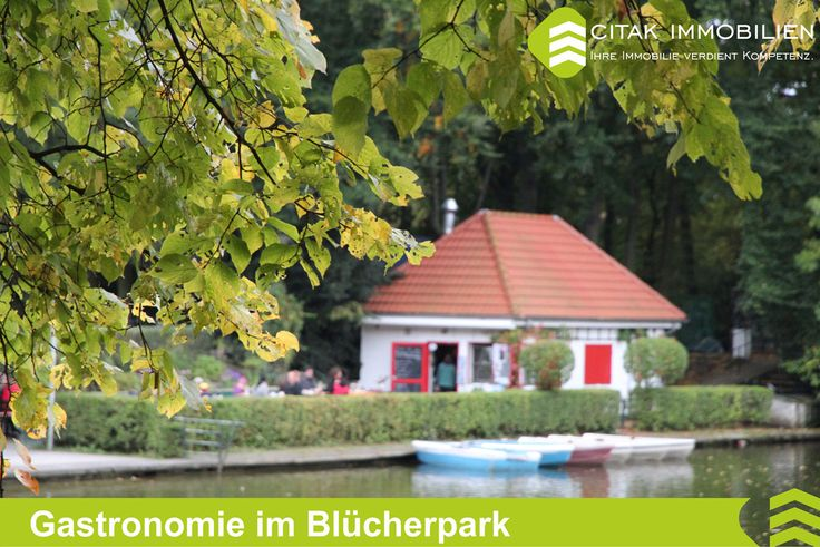 Gastronomie im Blücherpark.