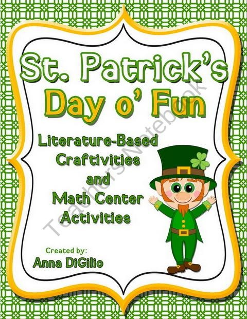 St. Patrick's Day of Fun product from SimplySkilledinSecond on TeachersNotebook.com